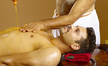 Pizhichil Therapy at Mareena Panchakarma